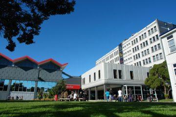 Khuôn viên học viện WelTec & Whitireia