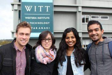 Sinh viên Học viện WITT