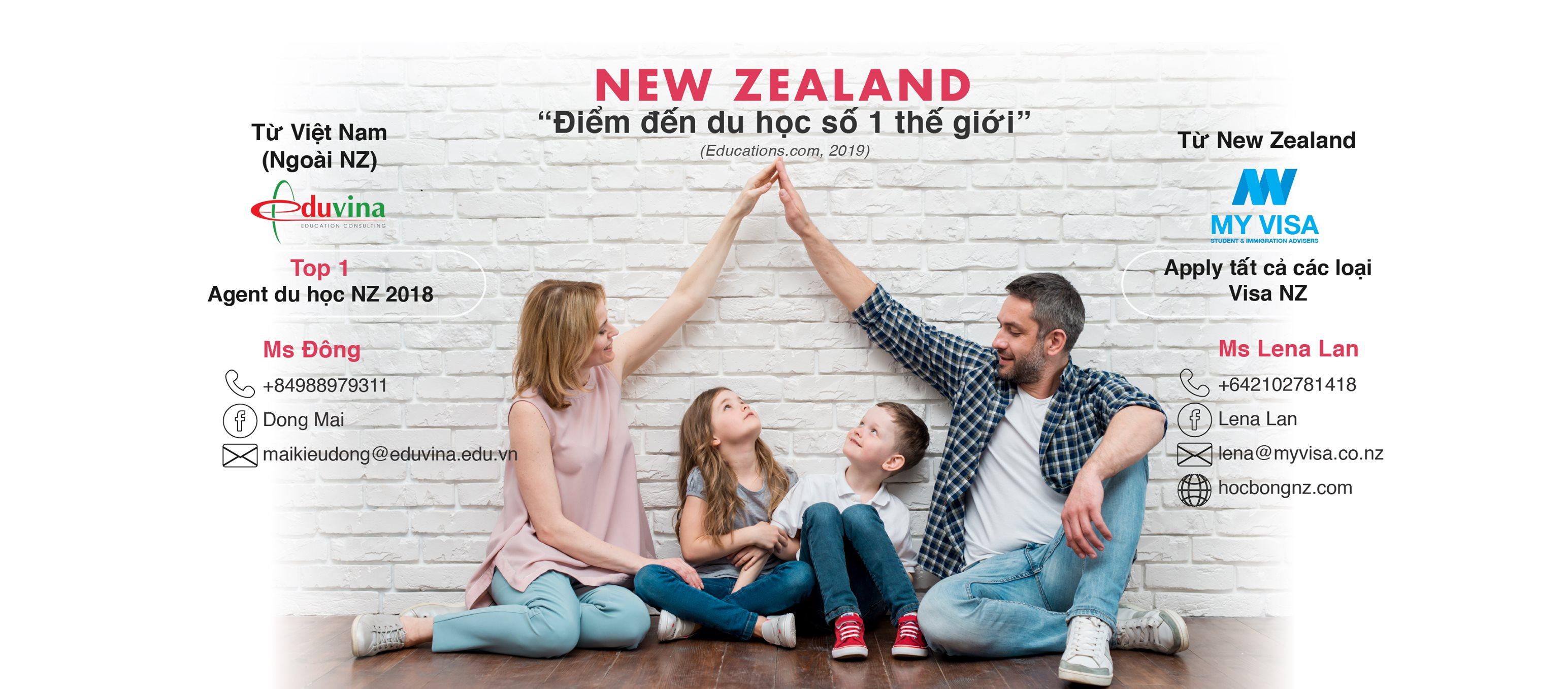 Du học định cư New Zealand - du học cả gia đình