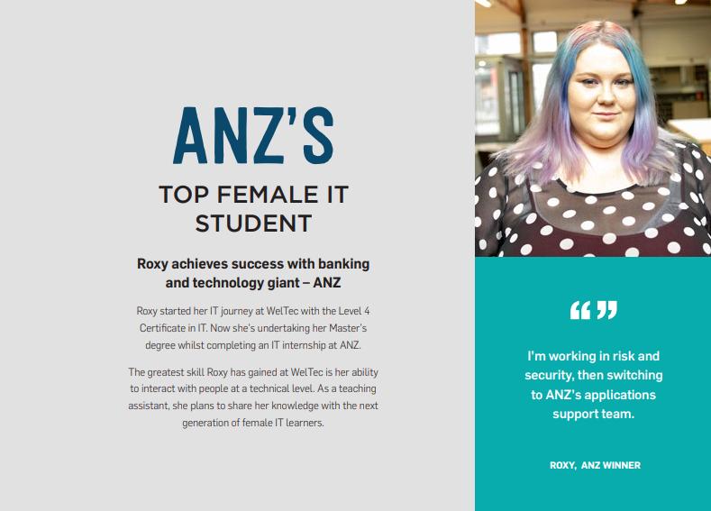 Top Female IT Student - WeITec & Whitireia